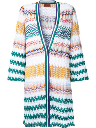 cardigan open women white cotton pattern sweater