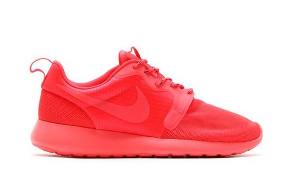 shoes nike roshe run laser crimson