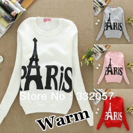 Aliexpress.com : Buy free shipping!Women star Paris Eiffel Tower casual hoodies chandal patins aztec crewneck sweatshirt Couple Baseball plus size from Reliable sweatshirts guys suppliers on Jessy Lin Apparel Co., Ltd