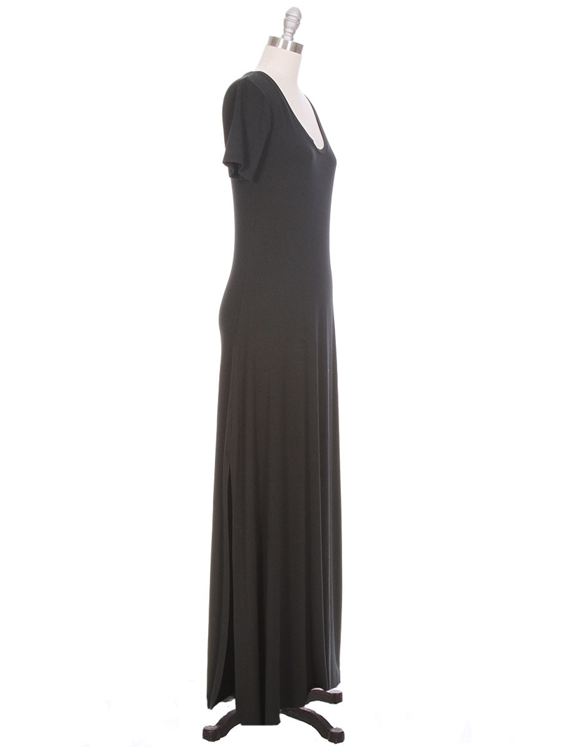 FEEL THE PIECE Piper Short Sleeve Maxi Dress Dresses for Women at Ron Herman