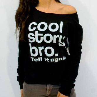 sweater cool story bro toy story bag