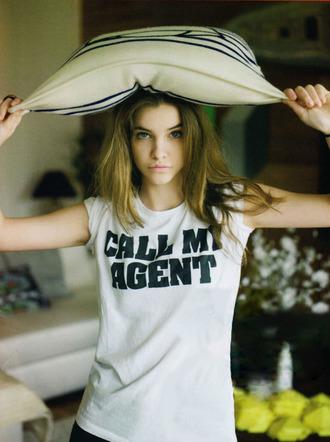 t-shirt model barbara palvin