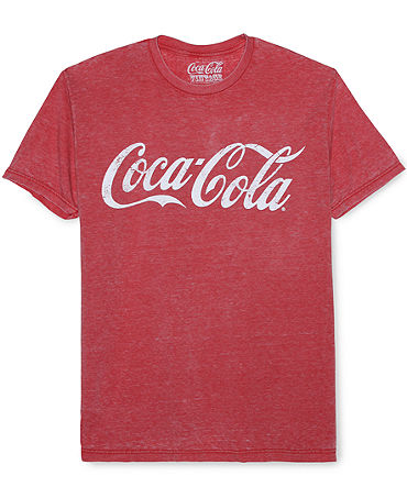 Jem Shirt, Coca-Cola Print T-Shirt - T-Shirts - Men - Macy's