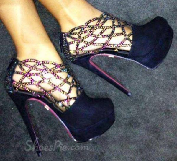 shoes heels heels black