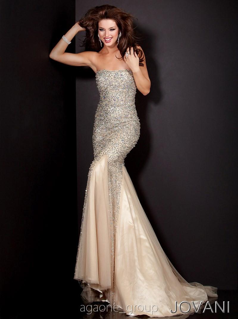JOVANI Prom Dress 4426 Lowest Price GUARANTEE 0 2 4 6 8 10 12 14 Champagne | eBay