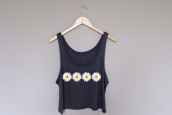 tank top blouse daisy