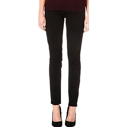 PAIGE DENIM - Hoxton skinny high-rise jeans | selfridges.com