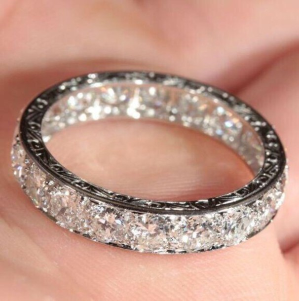 ring wedding ring diamonds