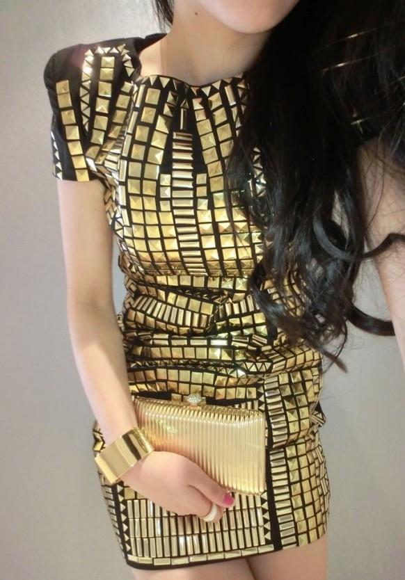 ShopCourtneyP - Goldie Dress