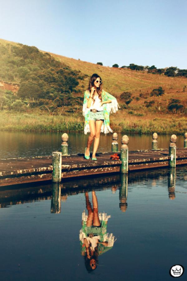 fashion coolture shorts sunglasses bag