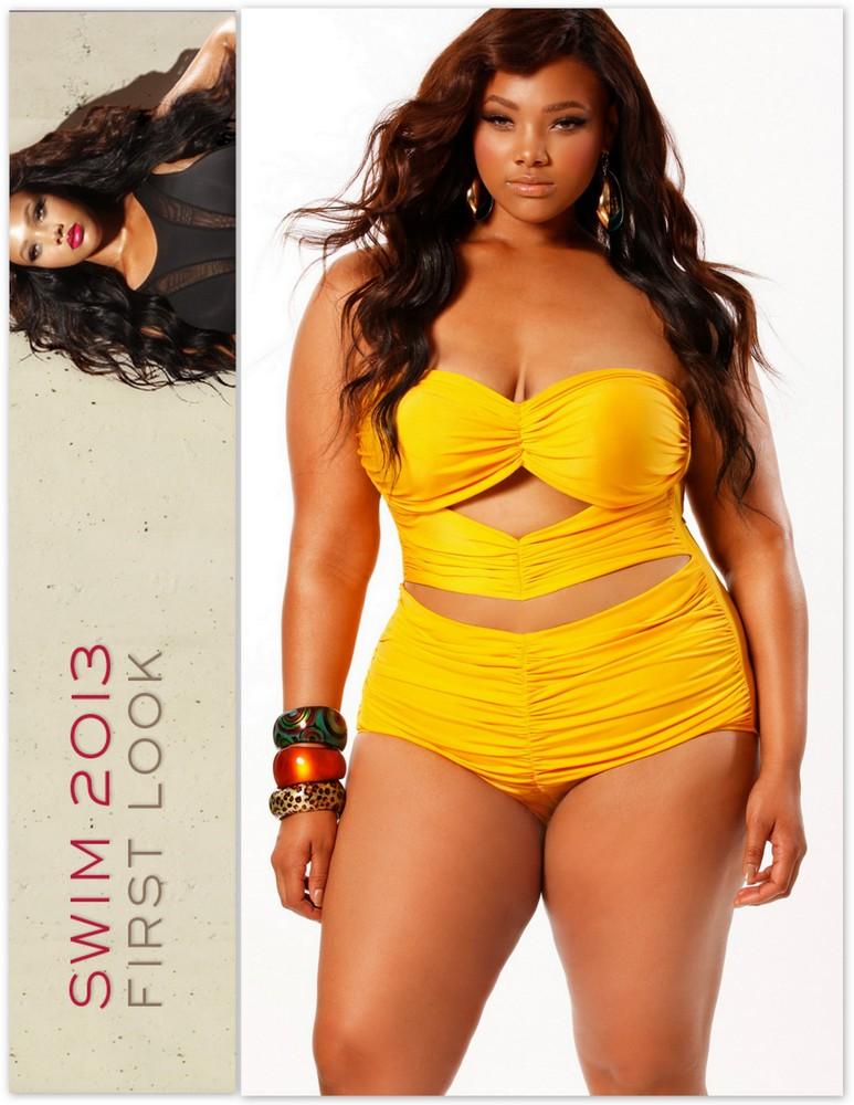 Plus Size Swimwear: Sexy Swim with Monif C Plus Sizes