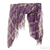 Tilo Purple Plaid Gauze Scarf / TheFashionMRKT