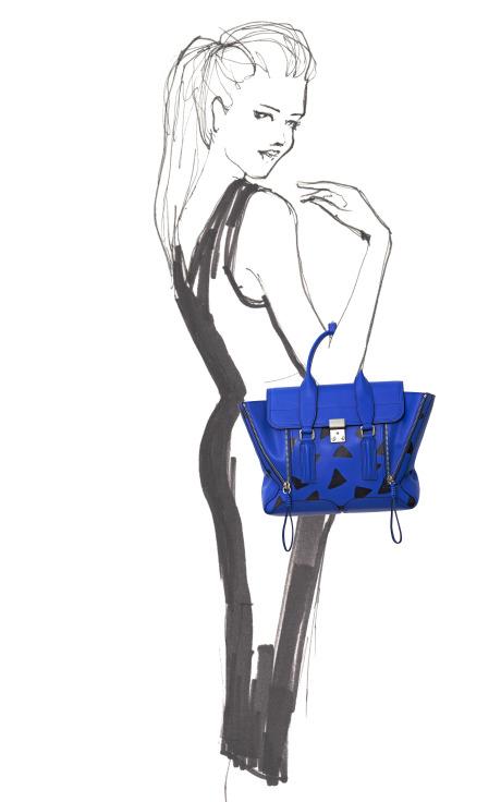 Pashli Medium Satchel by 3.1 Phillip Lim for Preorder on Moda Operandi