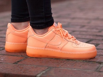 shoes nike nike air nike air force nike sunset glow sunset glow blogger sneakers nike sneakers color sneaker hip hop hip hop style