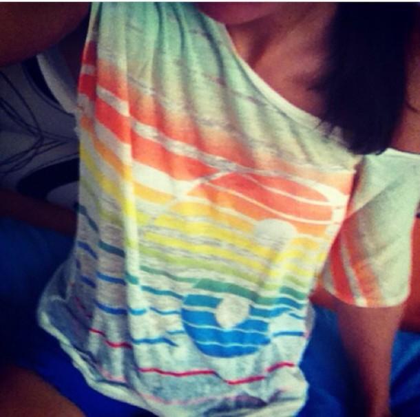 shirt bunt yin yang chill @summer