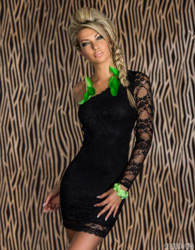 Womens One Shoulder Clubwear Sexy Lace Tight Dress Party Lingerie Skirt s 2XL   eBay