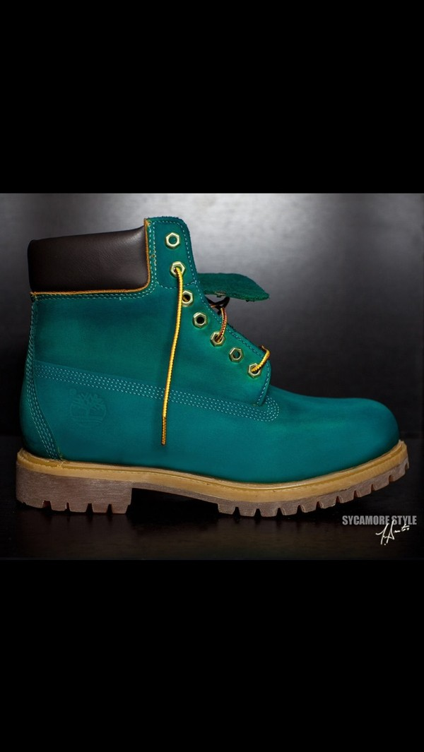shoes timberland timberlands green