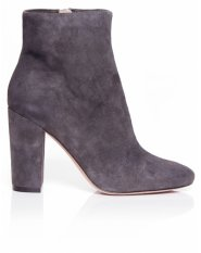 Jean Michel Cazabat Grey Rosa Kid Suede Boots