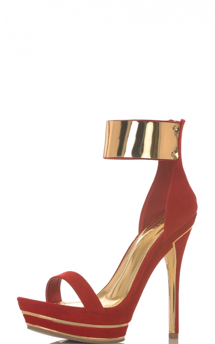 All shoes > TAKE ME TO HOLLYWOOD HEEL IN RED