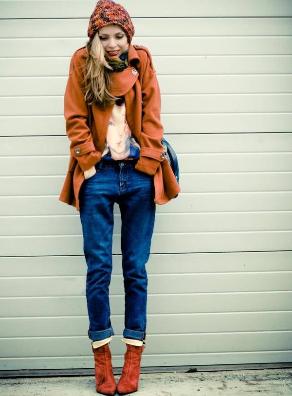 tini tani coat t-shirt jeans shoes bag