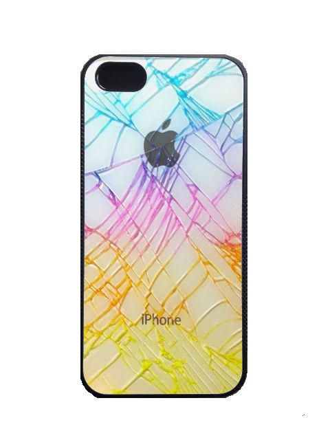 Cracked Glass iPhone 4 4S 5 5S 5c Case Silicone | eBay