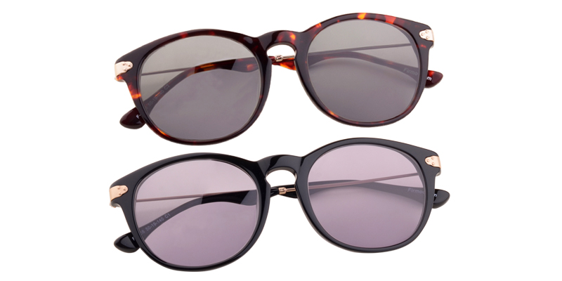 Unisex full frame acetate sunglasses - FS1008 | Firmoo.com