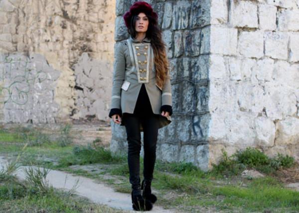 madame rosa jacket pants sweater hat shoes