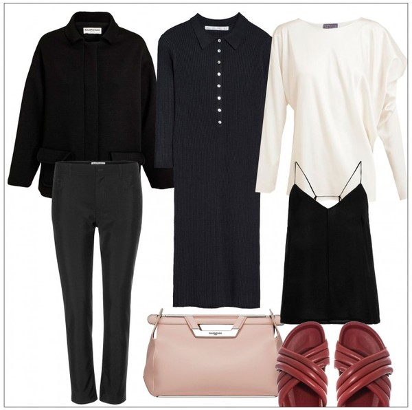 style by kling tank top jacket dress pants t-shirt bag