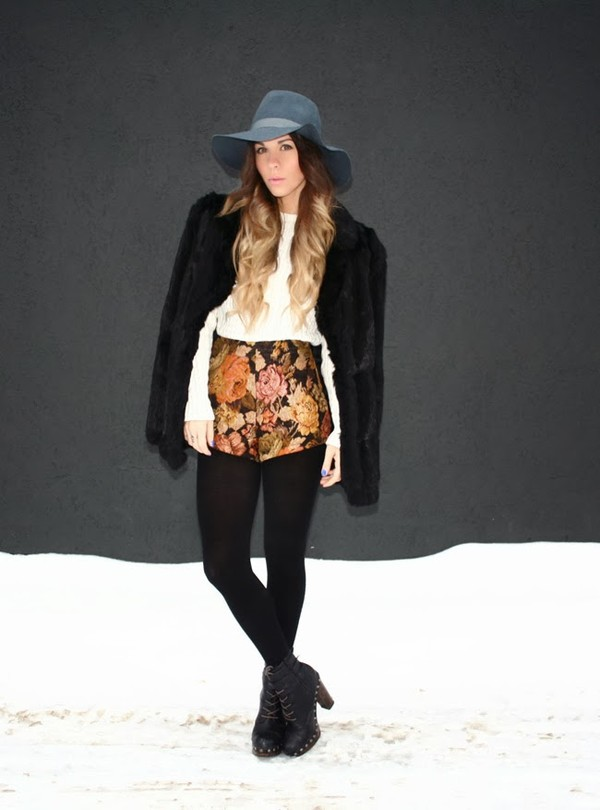bewolf shorts coat sweater shoes hat