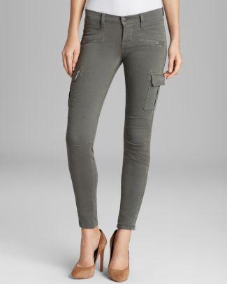 J Brand Jeans - Grayson Skinny Cargo in Vintage Olive | Bloomingdale's
