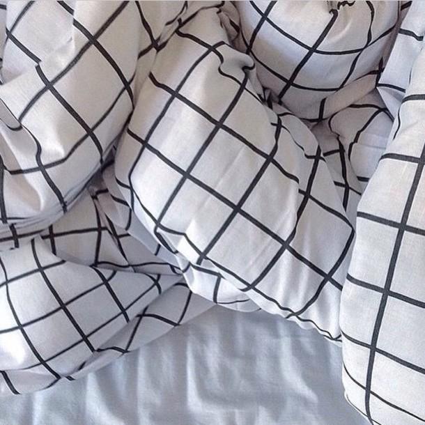 pajamas blanket bedding black and white bedding checkered pale