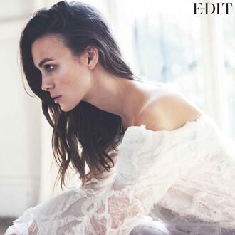 top dress lace wedding dress keira knightley
