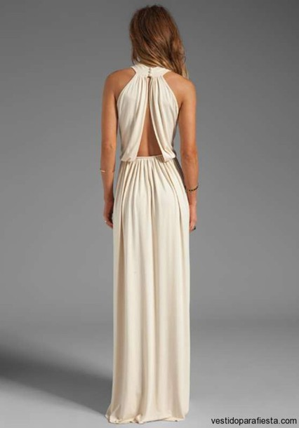 dress formal homecoming nude beige maxi lovely elegant maxi dress