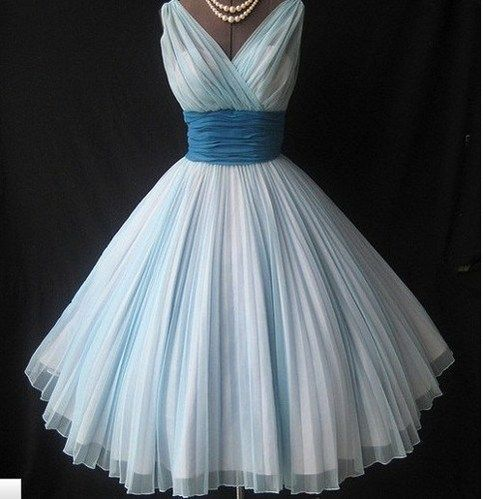 Charming Girl | Charming Sweetheart Vintage Chiffon prom dress | Online Store Powered by Storenvy