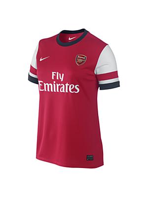 2013/14 Arsenal Football Club Replica Short-Sleeve Women's Football Shirt. Nike Store UK