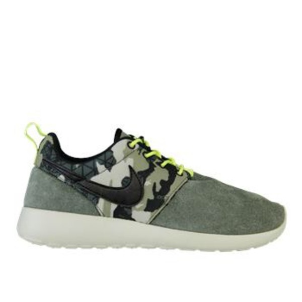 shoes nike green camouflage nike roshe run