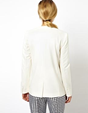 ASOS   ASOS Premium Blazer in Slim Fit at ASOS