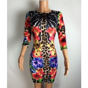 Jungle Midi Dress - New Arrivals
