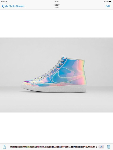 shoes nike women's hologram blazers