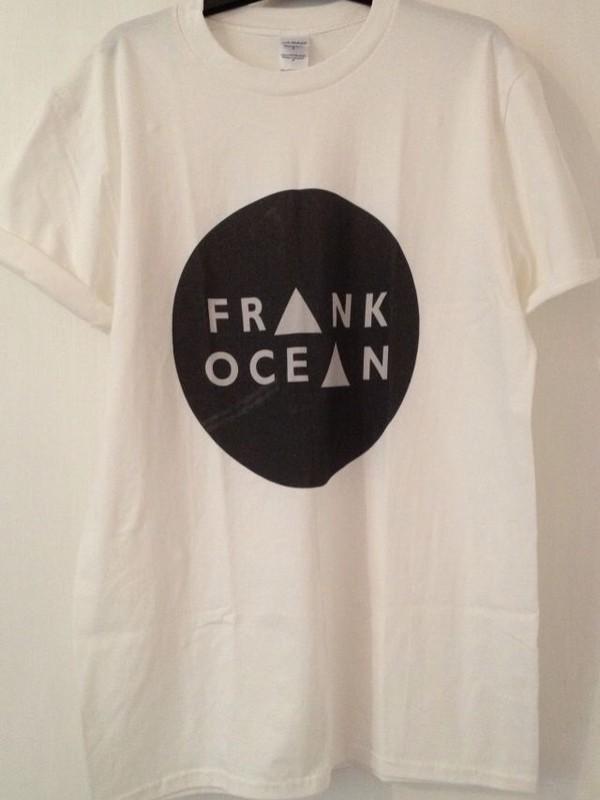 t-shirt white tank top white black shirt frank ocean triangles tumblr shirt