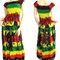 Bob marley women maxi dress long dress gypsy dress boho hippie dress summer beach dress party dress ...#pdk0133
