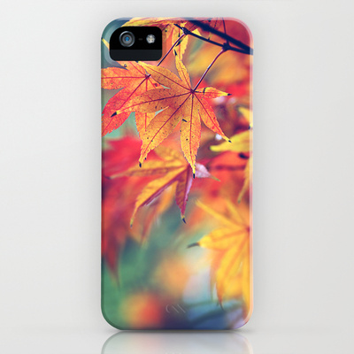 fall leaves iPhone & iPod Case by Sylvia Cook Photography | Society6