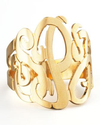 Jennifer Zeuner Three-Initial Monogram Ring - Neiman Marcus