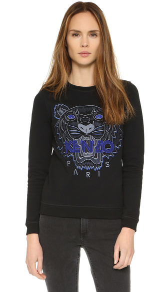 sweater fashion clothes kenzo tiger pullover sweatshirt french terry