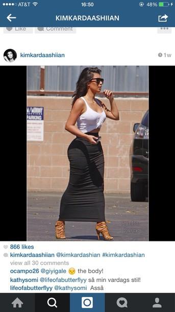 skirt kim kardashian skirt