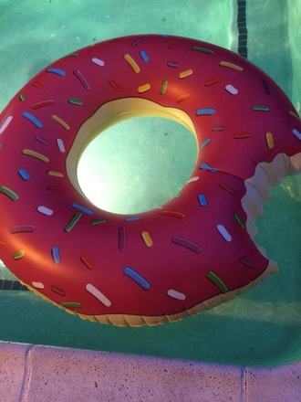 home accessory donut pool accessory