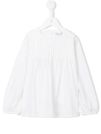 blouse girl white top