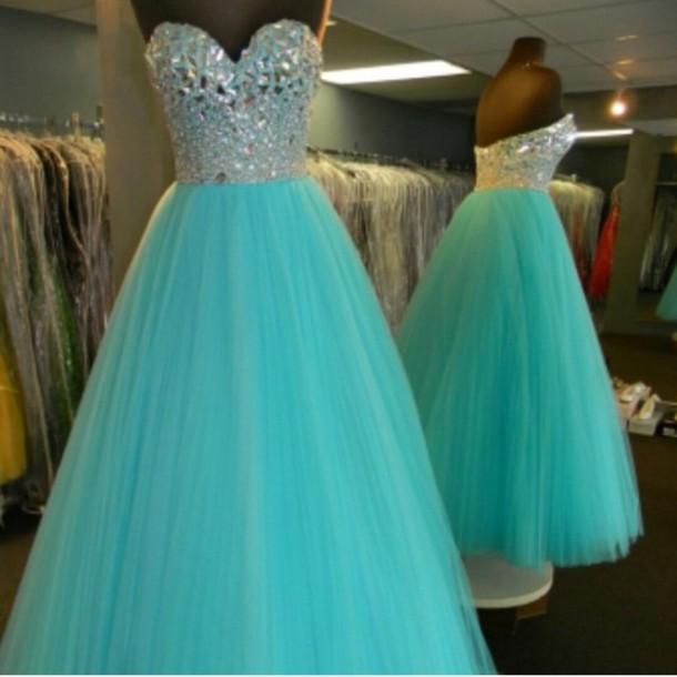 dress sparkly dress blue dress
