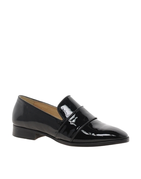 Whistles | Whistles Bette Black Loafer Shoes at ASOS