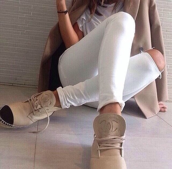 shoes chanel chanel boots chanel espadrilles chanel sneakers chanel shoes chanel beige